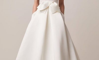 Best bridal outfits with statement bows