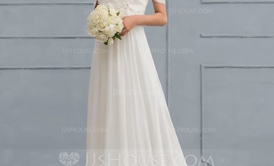 New a-line wedding gown