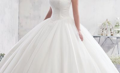 New the ball wedding gown