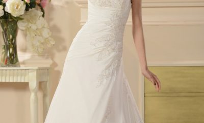 New the empire line wedding gown