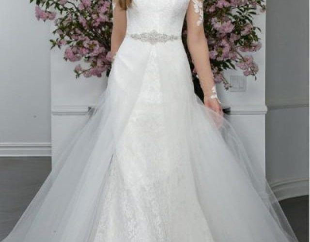 The Trumpet Wedding Gown