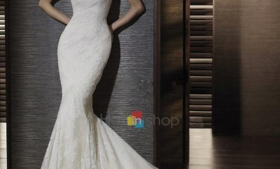 New the trumpet wedding gown