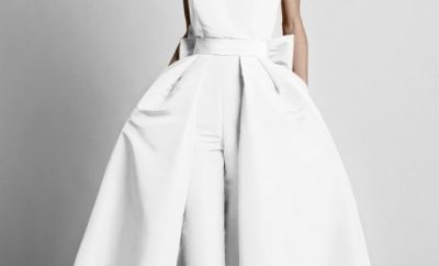 The jumpsuit wedding gown