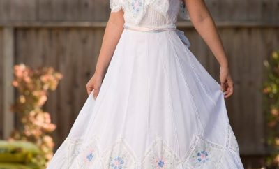 Amazing traditional mexican wedding dress